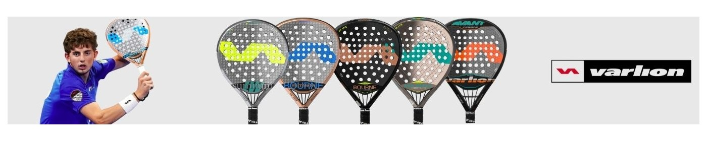 Varlion padel rackets, the latest models