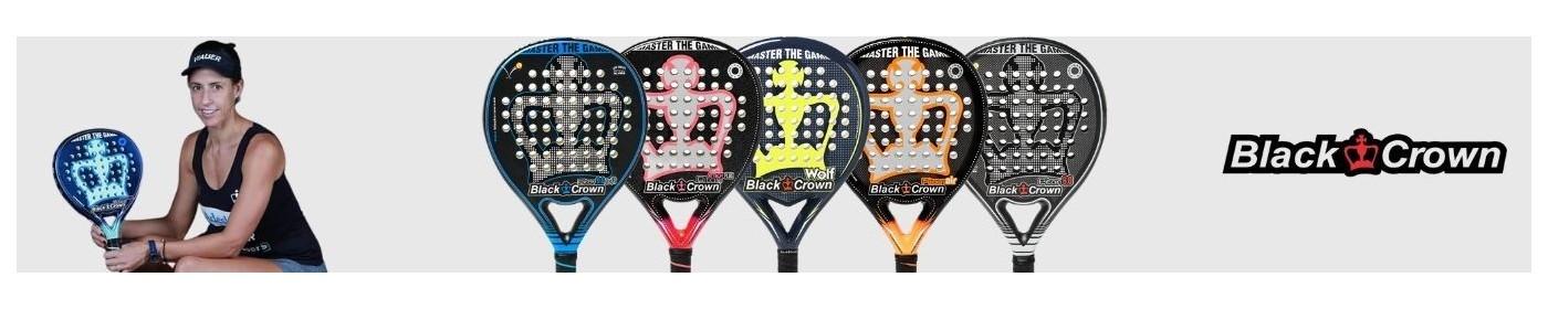 The latest Black Crown racquet models   Padel Market